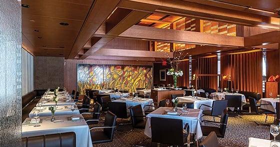 The main dining room at Tony's new location in Clayton seats 68 at full capacity.
