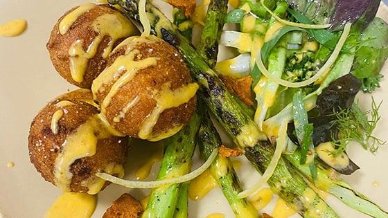 Spring Salad at Bolyard's Meat & Provisions